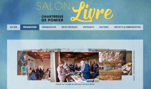 Dimanche 18 novembre : Salon du Livre du Grand Genève