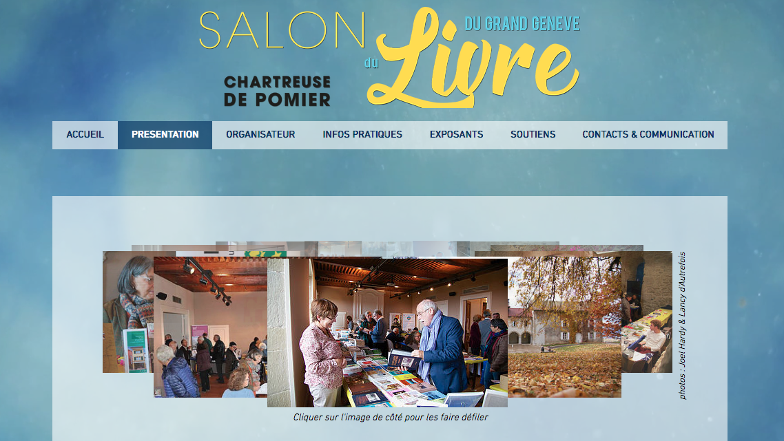 Site officiel www.salonlgg.org
