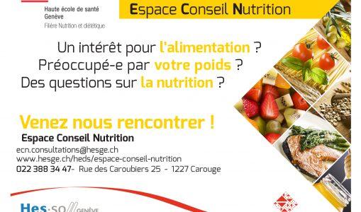 La Haute école de santé de Genève propose des consultations diététique à moindre frais pour tous les publics