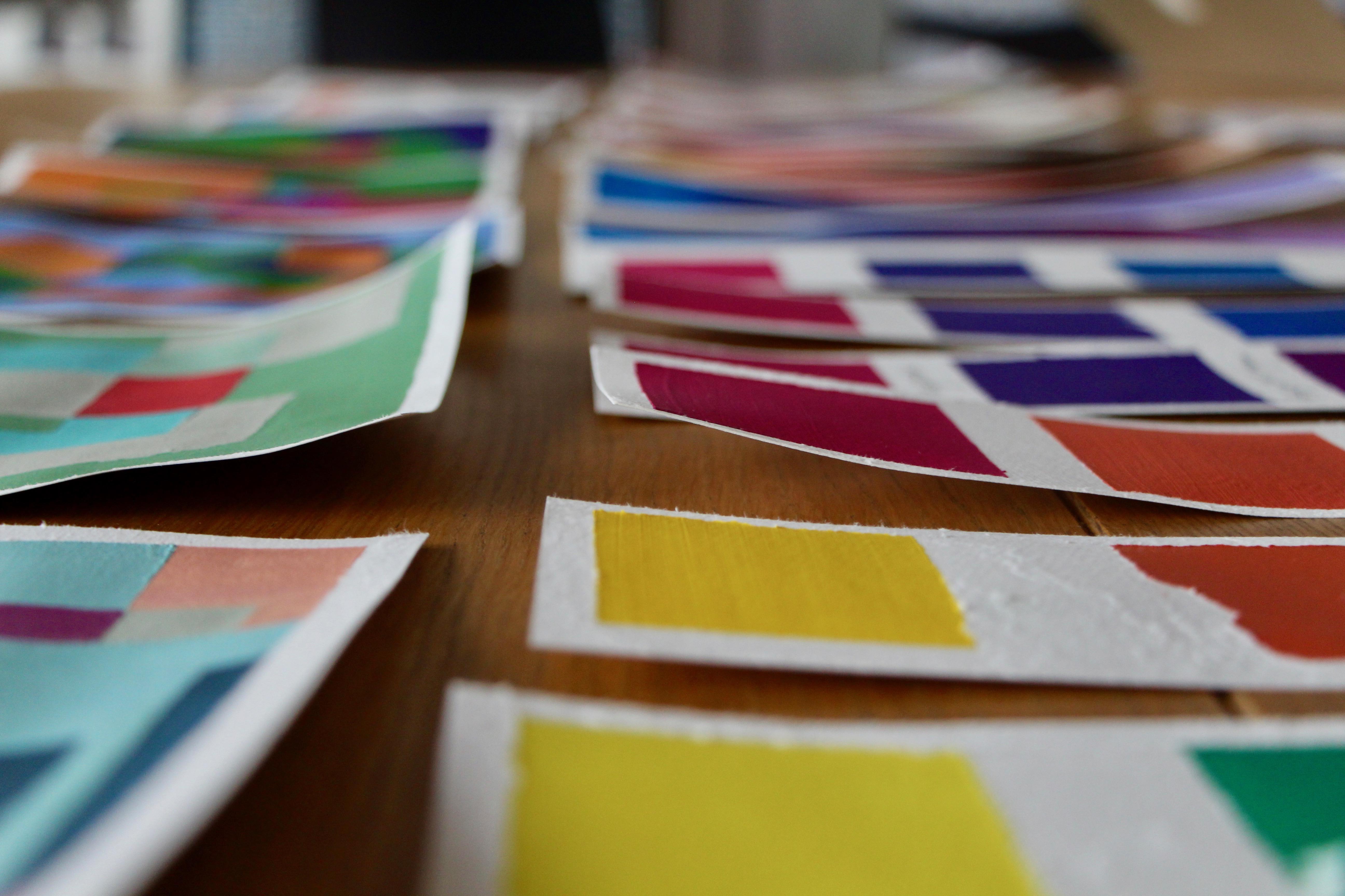 Analyse des couleurs © Eugénie Rousak