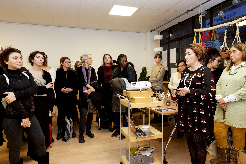 Annonce des lauréates du programme de mentorat © C. Martignoli