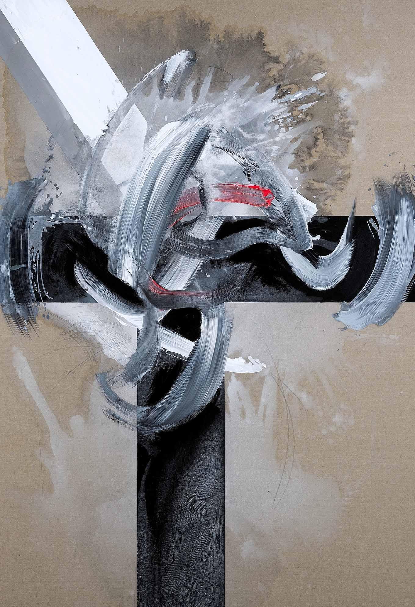 Peinture de David Ciana. © DR