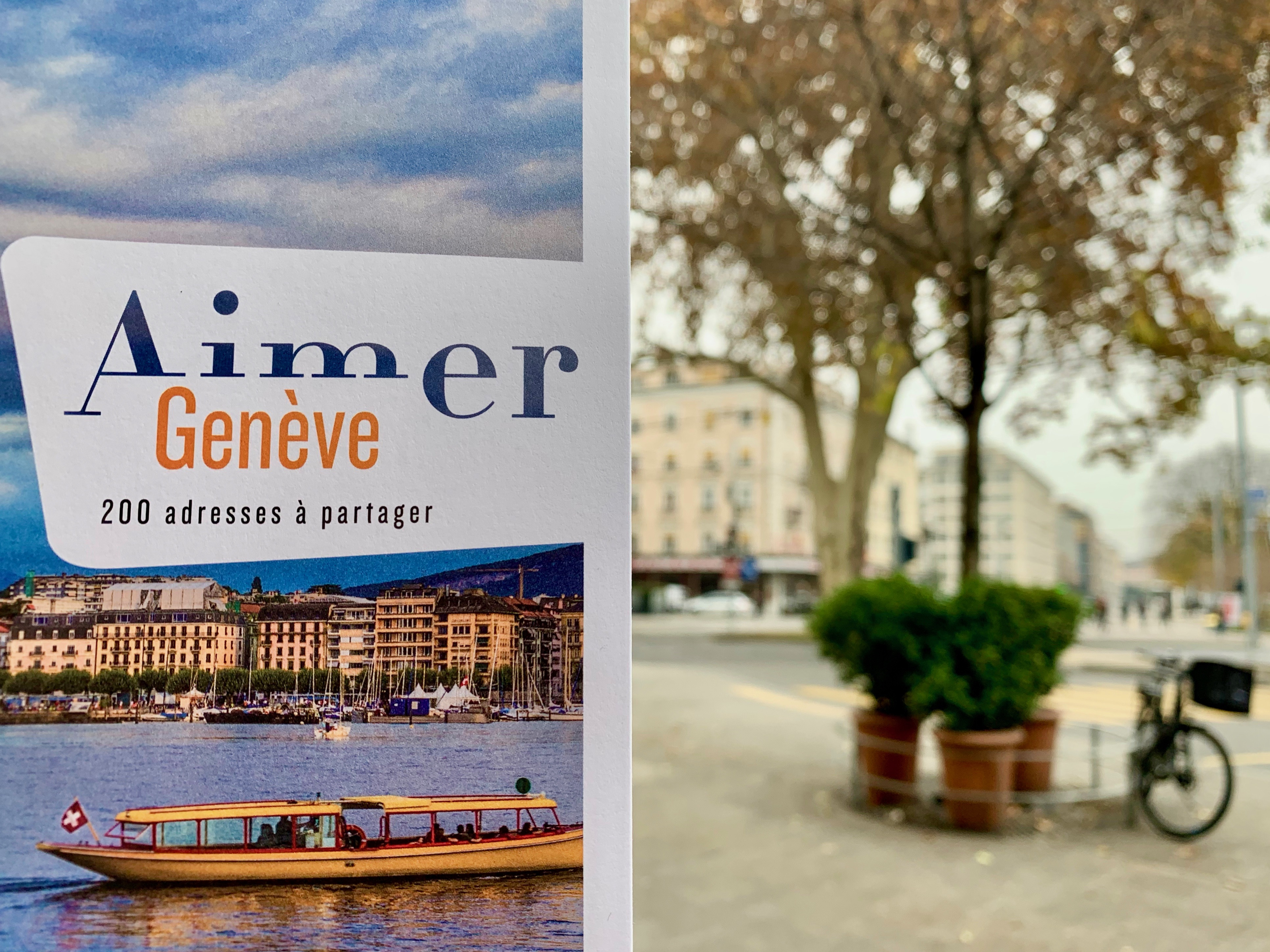 « Aimer Genève » aux éditions Mardaga © Eugénie Rousak