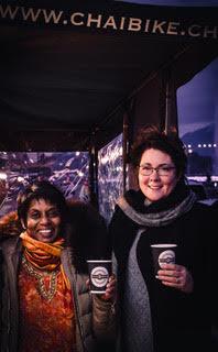 Shyamalie et Isabelle, fondatrices de Chaï Bike ©ChaïBike