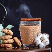 Thé Chaï et gâteaux aux noisettes  ©ChaïBike
