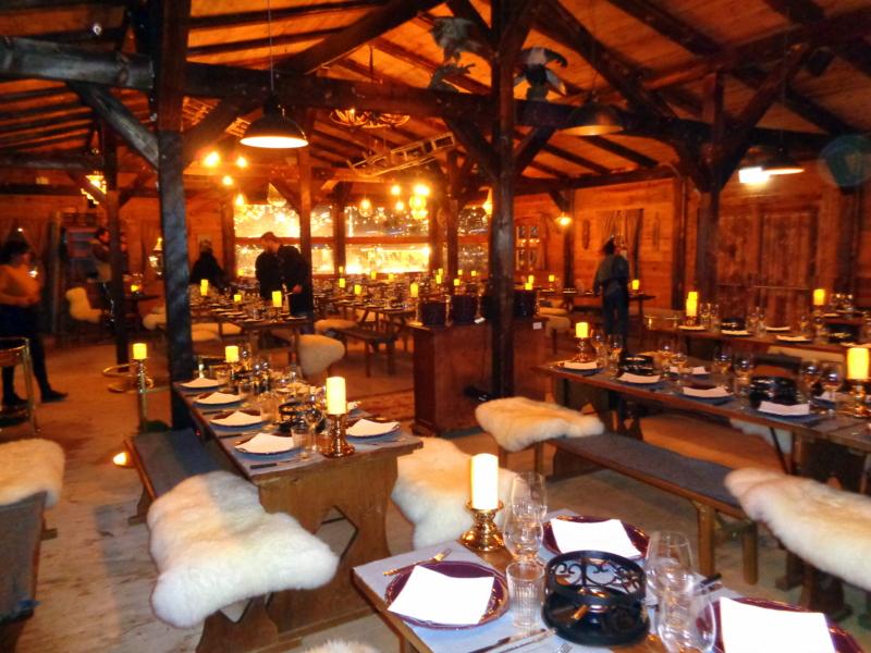 L'intérieur du Chalet à Fondue