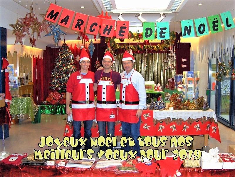 L'ancien Marché de Noël de l'époque à l'hôpital Beau-Séjour