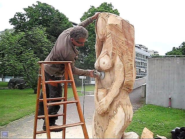 5. La Sirène également sculptée par Silvio Asséo