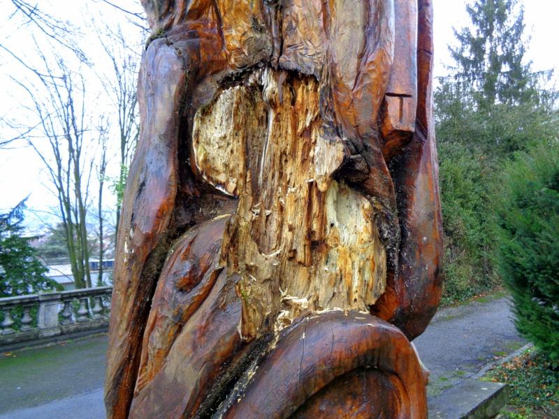 9. Le bois du Neptune commençait petit à petit à partir en morceaux depuis plusieurs années