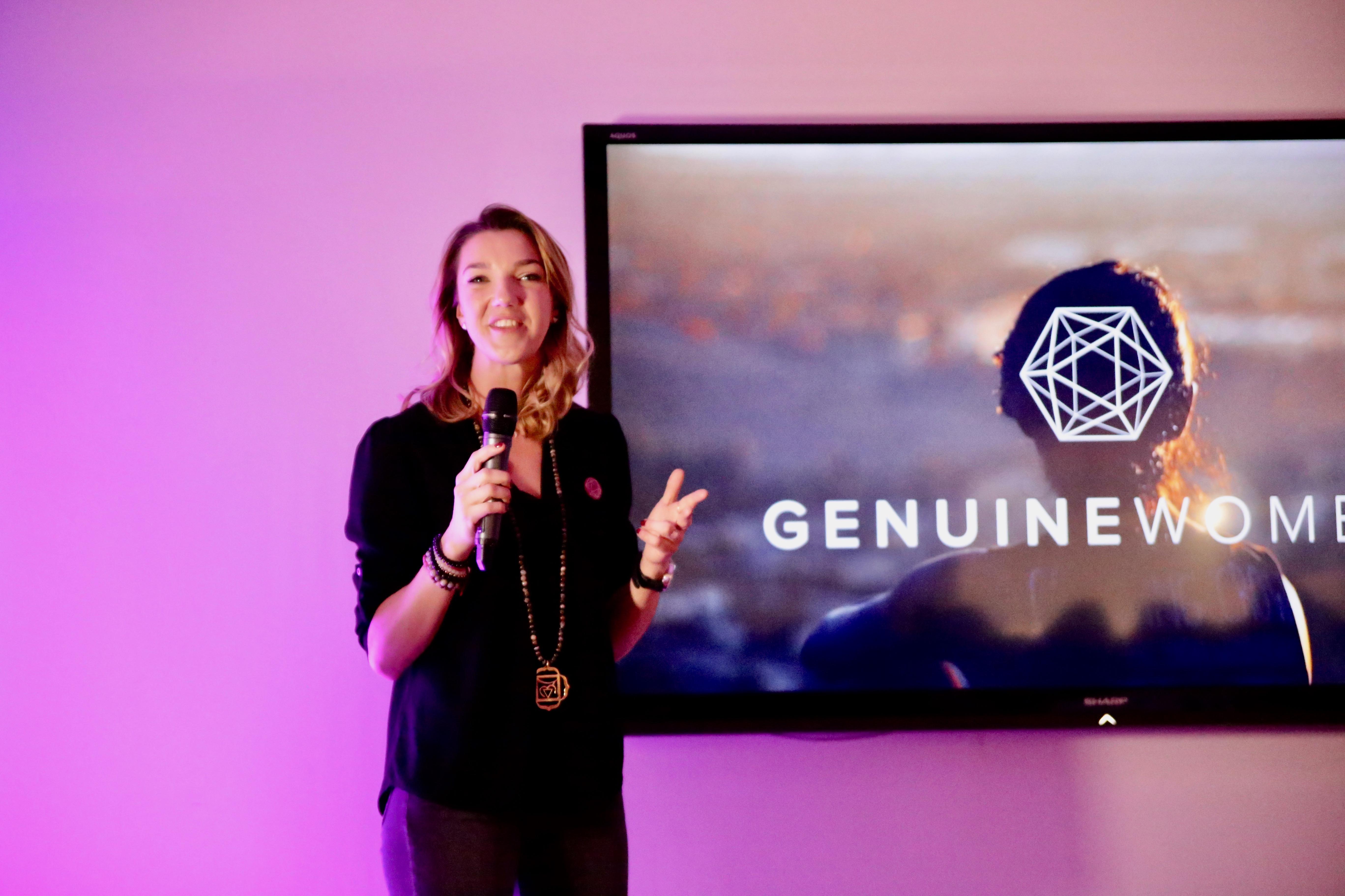 Emilie Hawlena, fondatrice de Genuine Women ©Rose Bolli