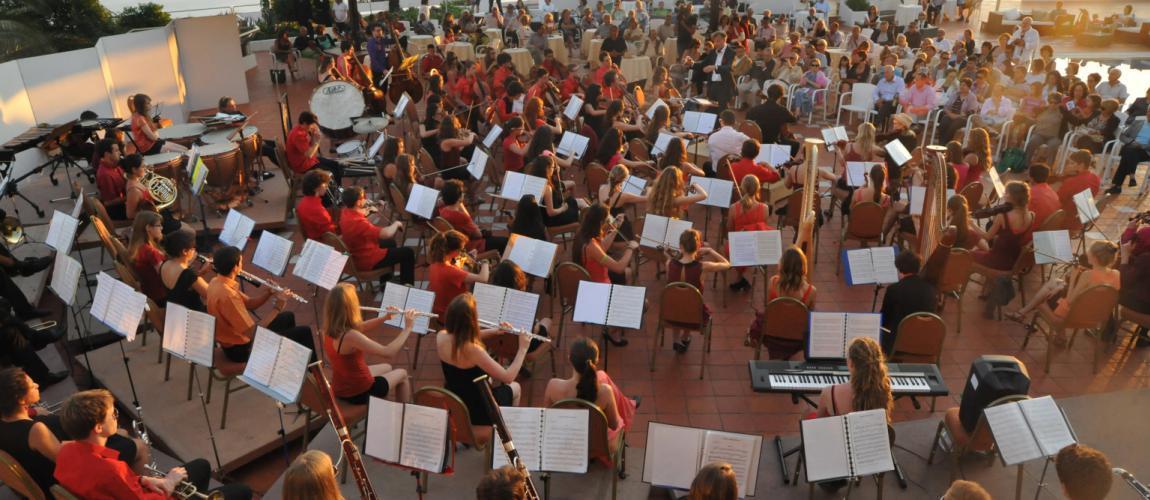 L'Orchestre du Collège de Genève en tournée en Italie ©DR/Orchestre du Collège de Genève
