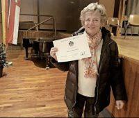 Le Mérite carougeois pour Anne-Marie Zweifel