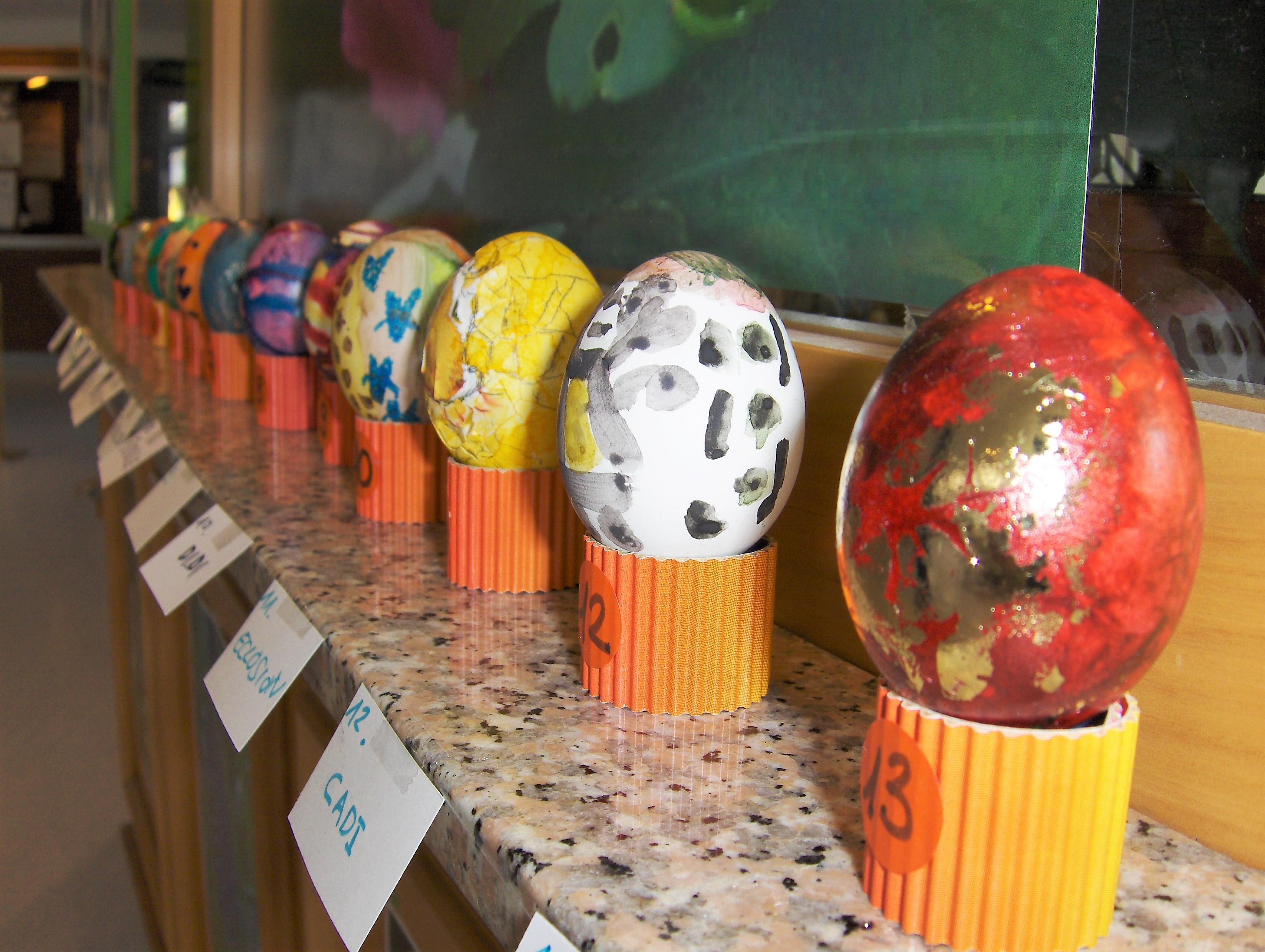 Participation au concours du plus bel œuf