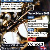 Soirée-concert de la Musique municipale de Plan-les-Ouates