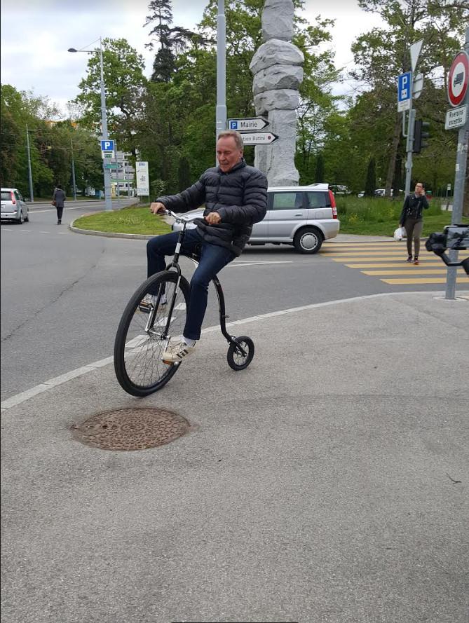 Inauguration Onexroule: des vélos de types particuliers avaient été mis en test.©Anderson Makedi