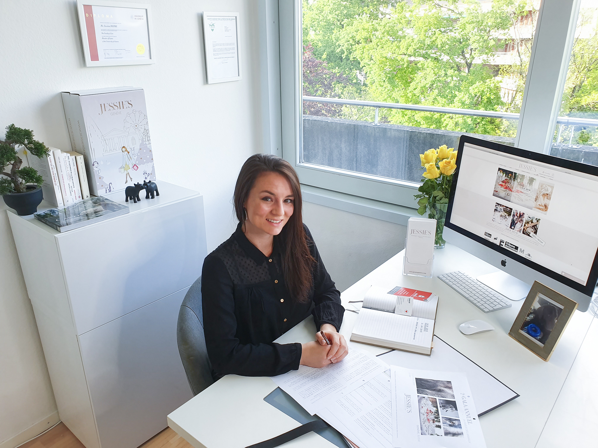 Jessica Depré, fondatrice de Jessie's Genève ©Jessie'sGenève