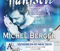 Renaud Hantson en concert hommage à Michel Berger