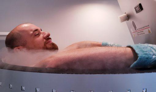 Cryothérapie au Cryo Bar
