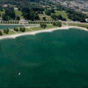 Splendide, la nouvelle plage publique des Eaux-Vives !