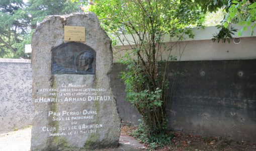 28 août 1910 : la première traversée en avion du lac Léman dans sa longueur par Armand Dufaux