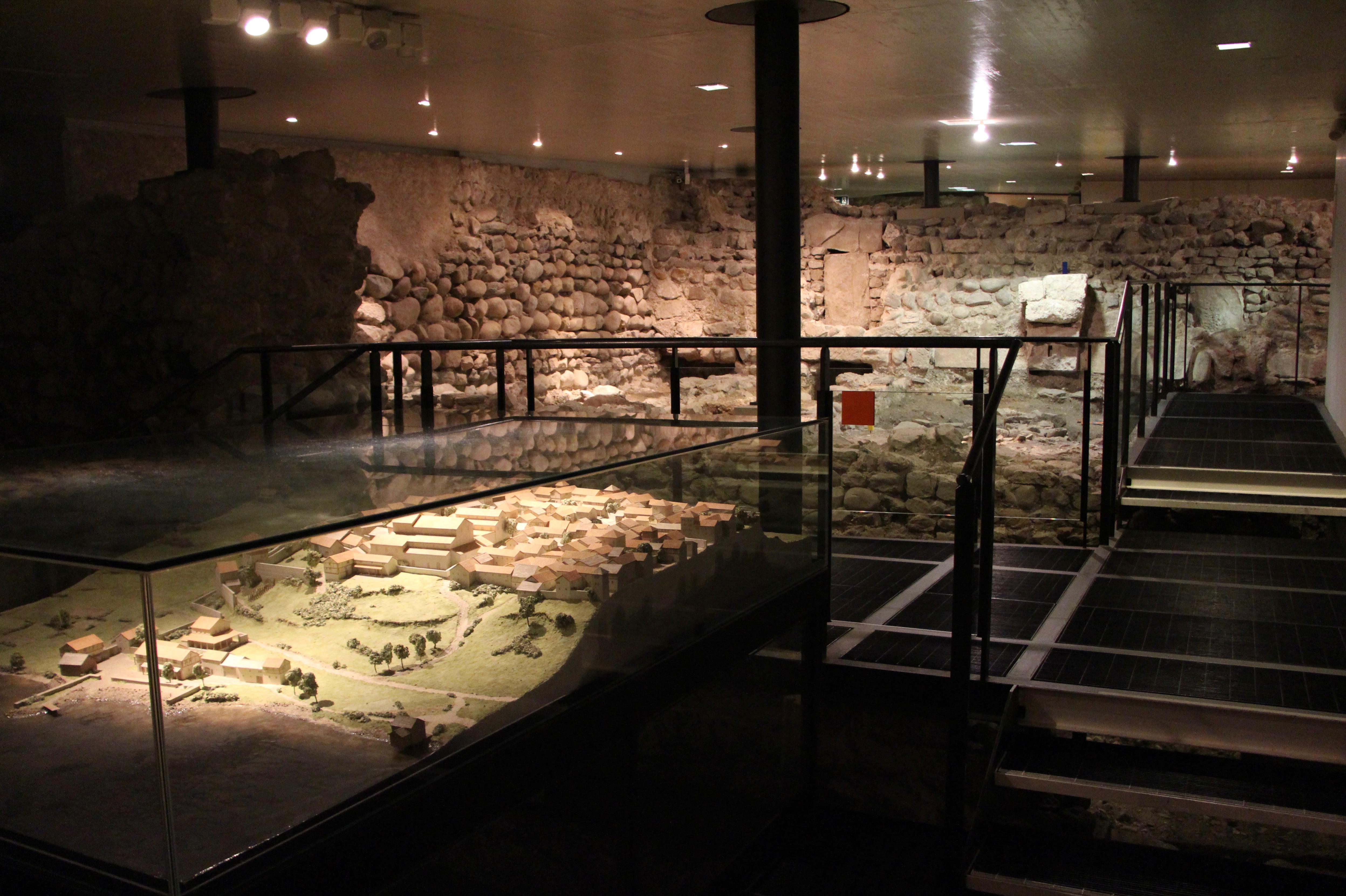 Le site archéologique © Eugénie Rousak