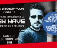 Eric Bakch-Pour – Hommage acoustique à la New Wave des années 80 à nos jours