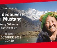 Conférence par Rémy Villemin – A la découverte du Mustang