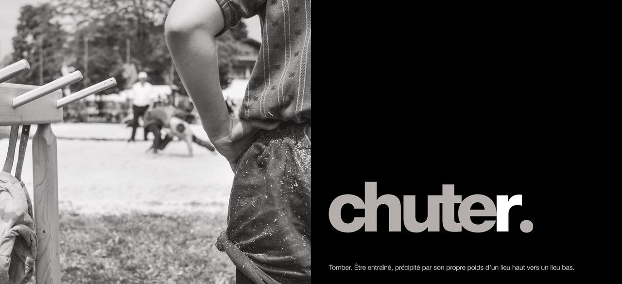 "Définition du verbe ""chuter"" © Karine Bauzin"