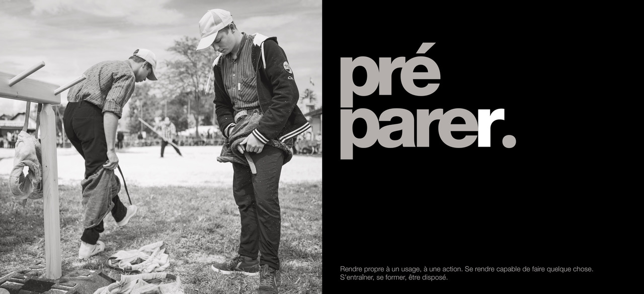 """Définition du verbe """"préparer"""" © Karine Bauzin"""