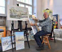Eric Wuarin, 50 ans de peinture