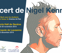 Concert exceptionnel de Nigel Kennedy pour la célébration des 30 de la Convention des Droits de l'Enfant