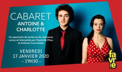 Le Cabaret d'Antoine & Charlotte