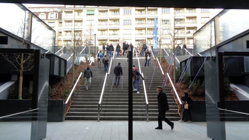 10. C.-H. La gare de Champel-Hôpital