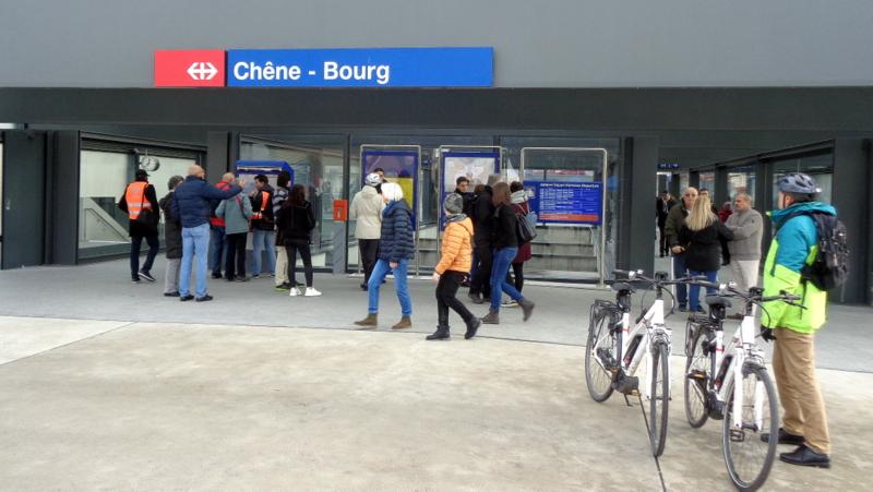 2. C.-B. La gare de Chêne-Bourg