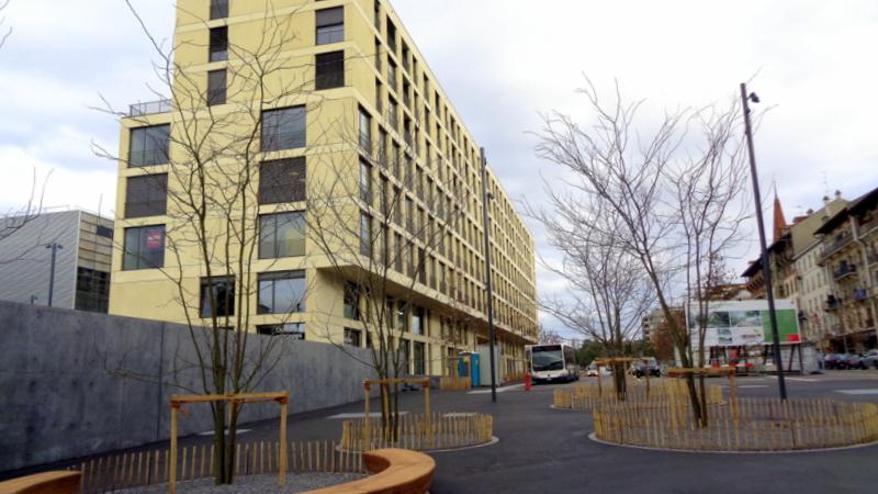 7. E.-V. Un véritable nouveau quartier en construction