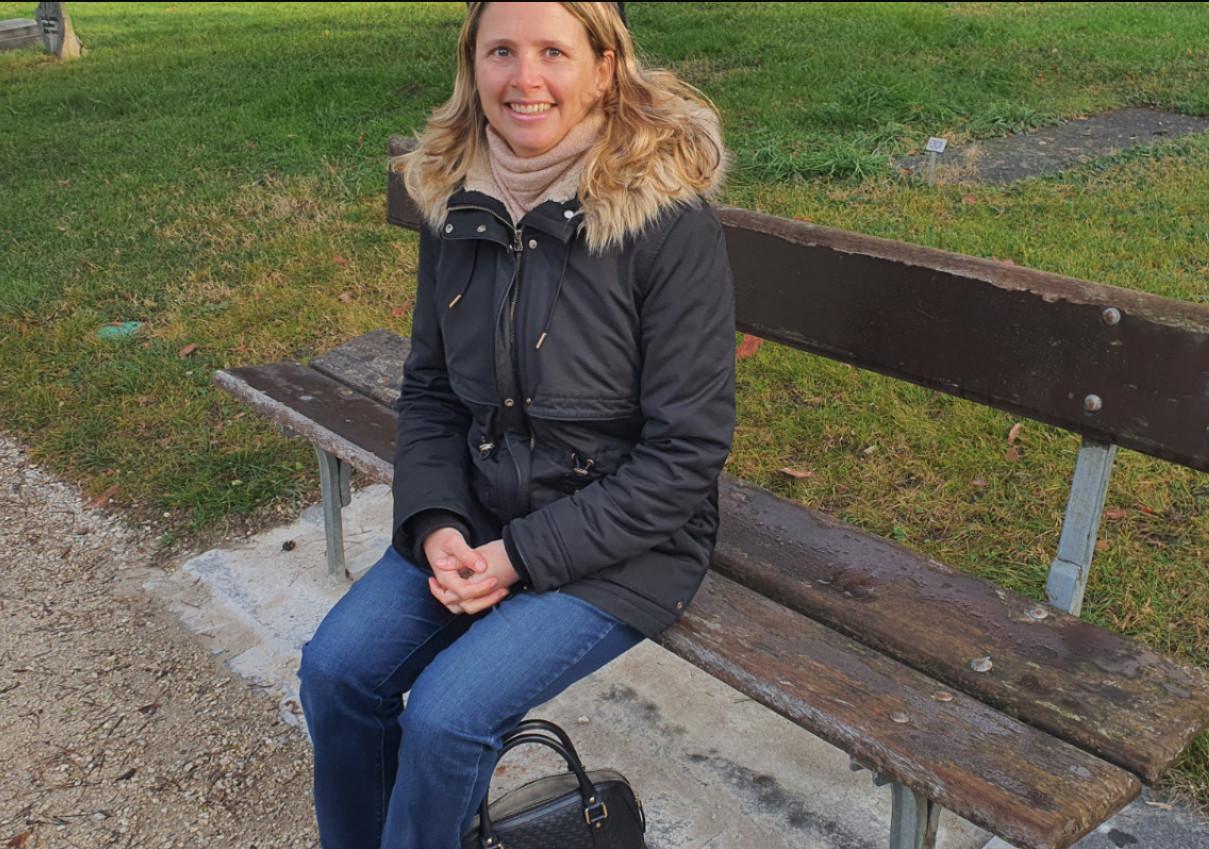 """Annik Baumgartner, auteure de la trilogie """"La quête d'ALyssa"""". © FK"""