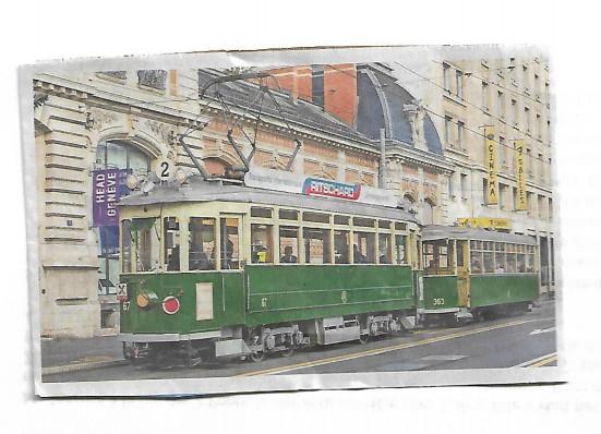 Le tram vert. ©Olga Eyben