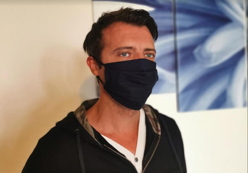 Type de masque réalisé par Mme De Giorgio.DR