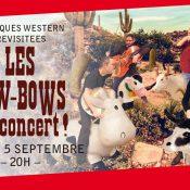 Les Cow-BoWs en concert