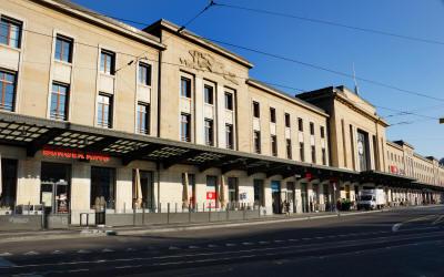 La gare de Cornavin. ©JJ Kisling