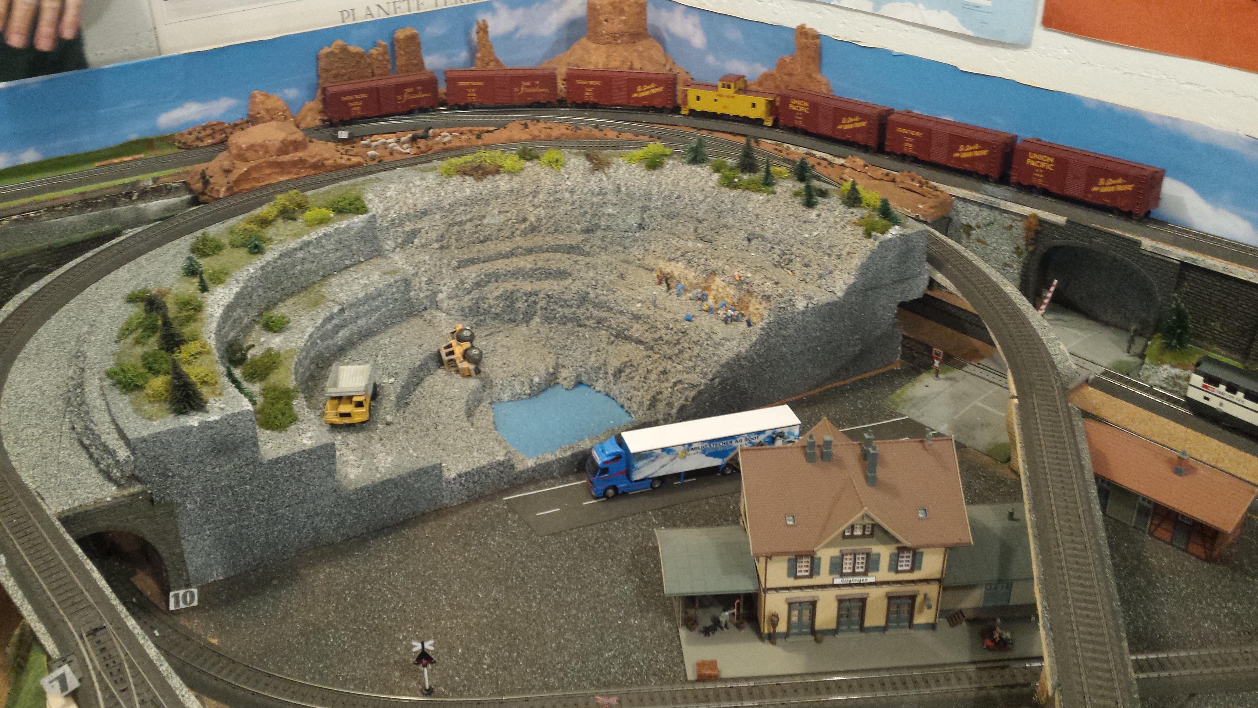 la mine d'amiante de Jeffrey, Québec