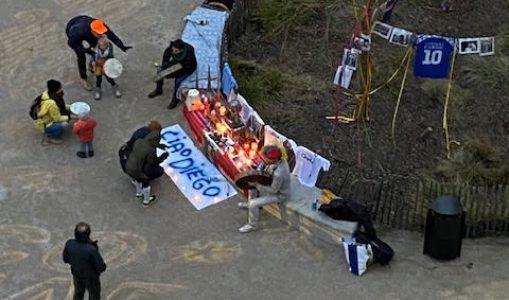 Santa Maradona à la Jonction