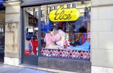 Une boutique surprenante : Elcé Danse, au 14 rue de la Corraterie