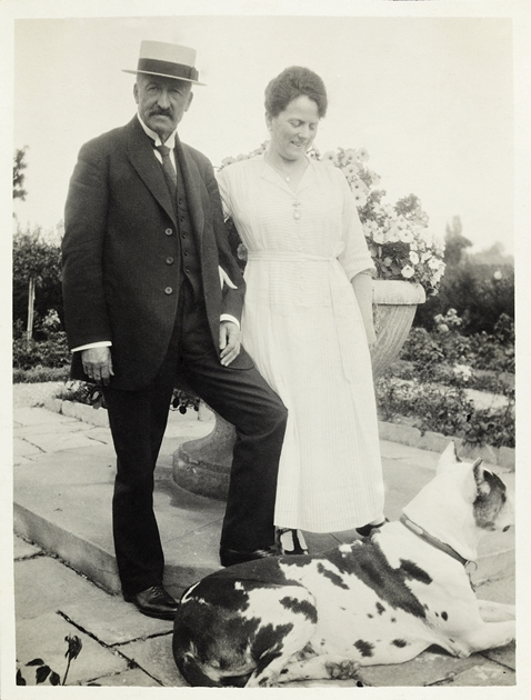 Alfred et Eugénie Baur