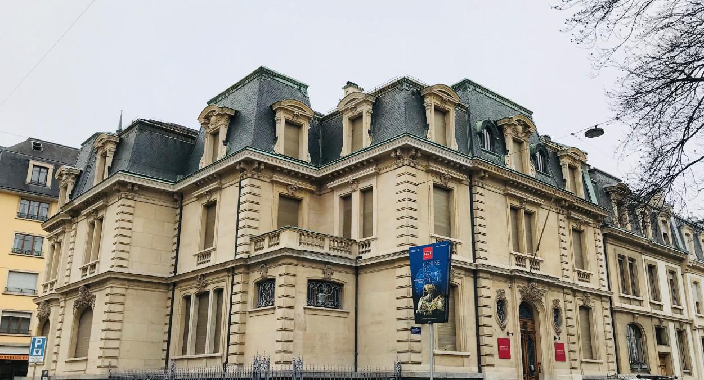 La Fondation Baur, à la rue Munier Romilly.© DR