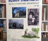 Histoire régionale : Parution des Échos Saléviens n° 28