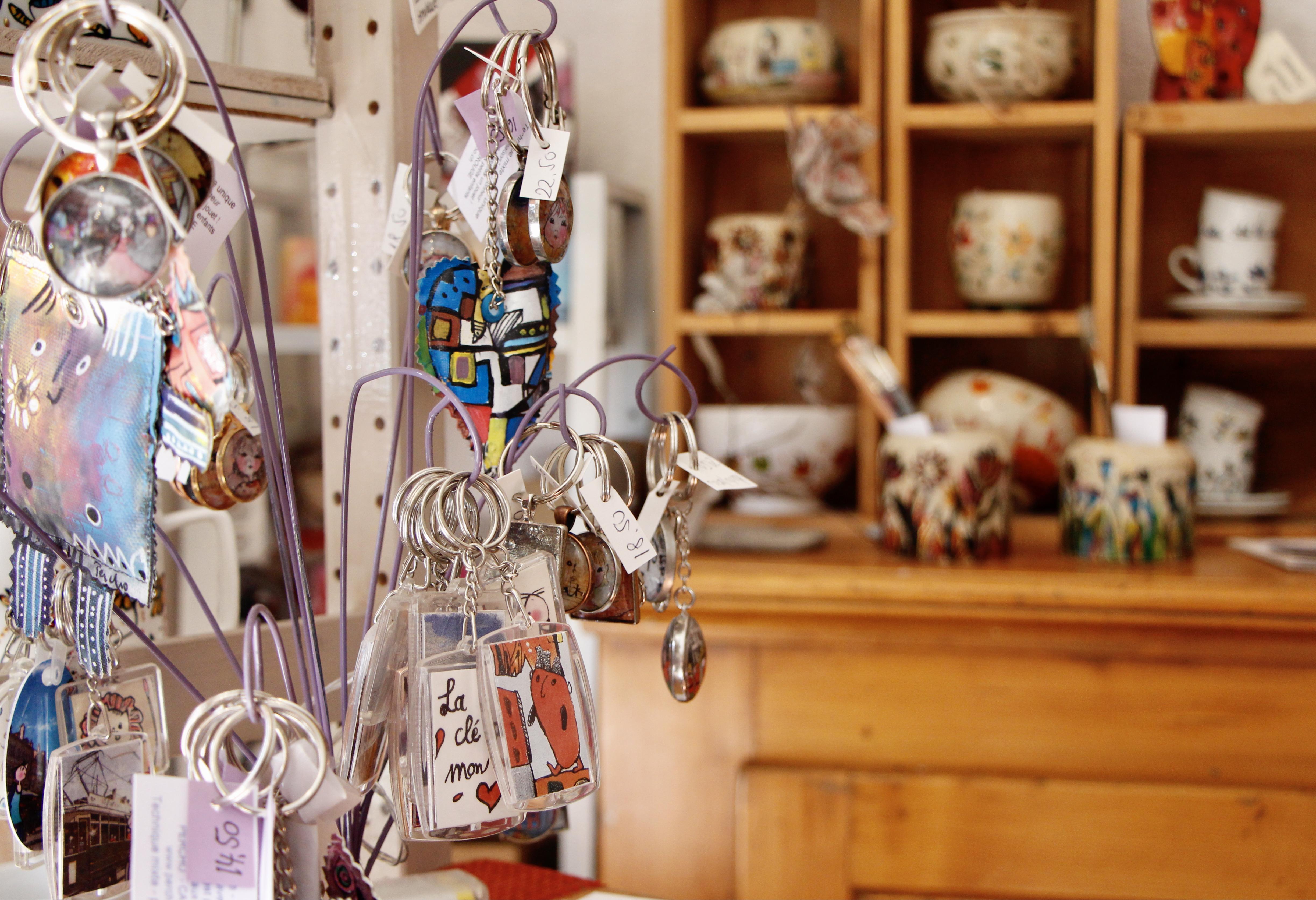 La boutique Percho © Eugénie Rousak
