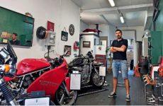Bella Meccanica, un atelier qui fleure bon la chromerie