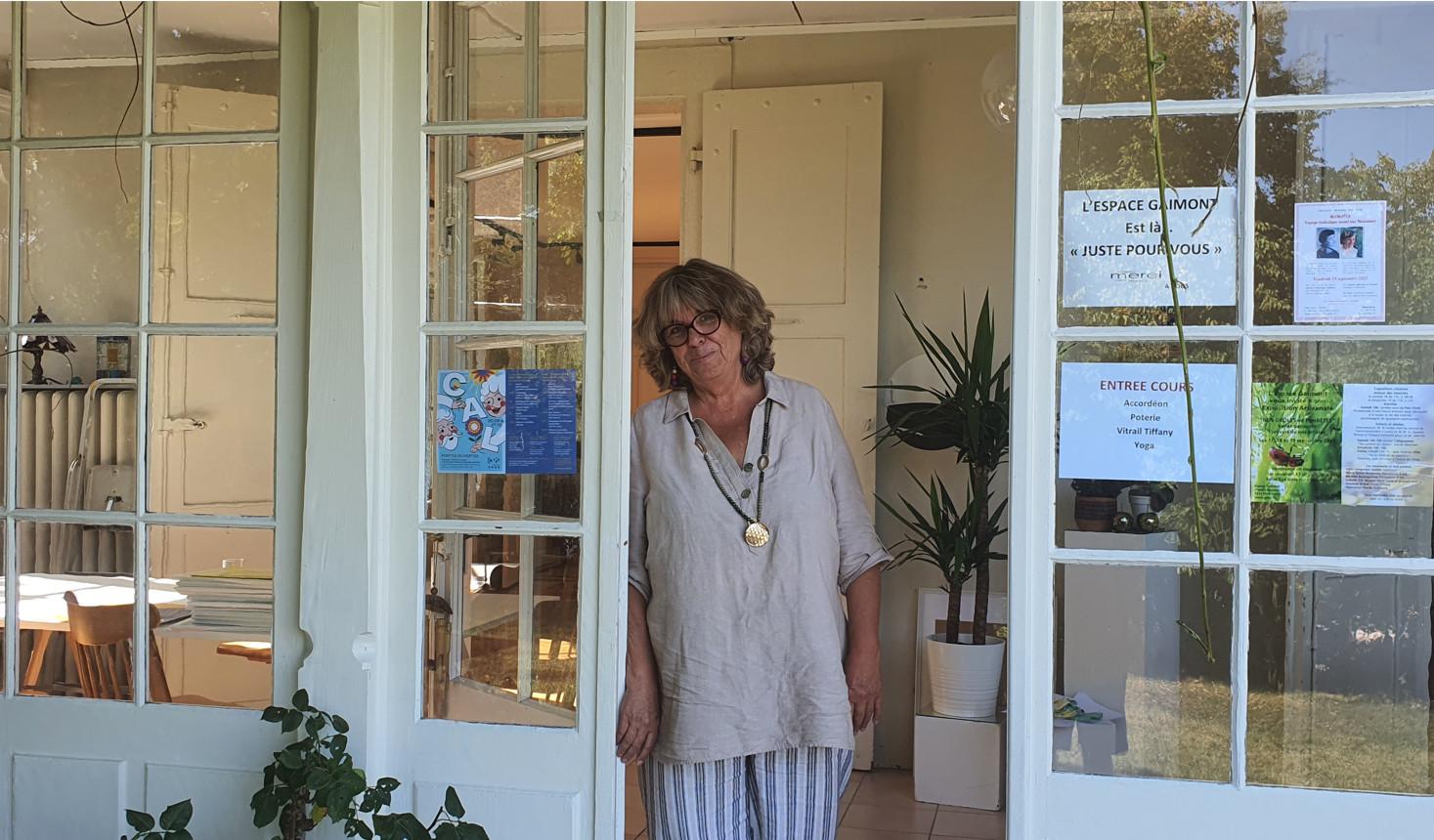 Suzanne Grand, responsable de l'espace Gaimont GHPL au Petit-Lancy© FK