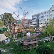 Construire ensemble un lieu de transition: le jardin Point Cardinal à Carouge